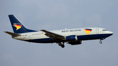 G-JMCU - Boeing 737-301(BDSF) - West Atlantic Airlines