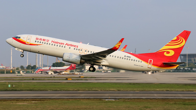B-5581 - Boeing 737-84P - Hainan Airlines