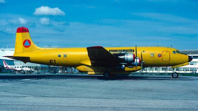 F-ZBAC - Douglas DC-6B - France - Sécurité Civile