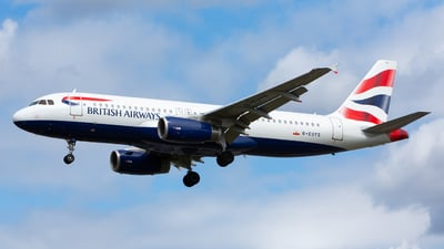 G-EUYS - Airbus A320-232 - British Airways