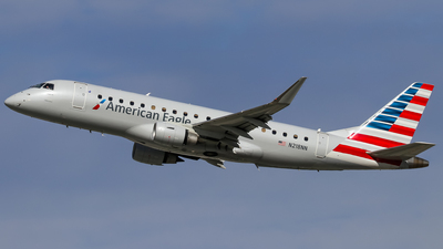 A picture of N218NN - Embraer E175LR - American Airlines - © Graham Dinsdale Collection
