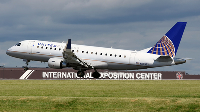N163SY - Embraer 170-200LR - United Express (SkyWest Airlines)