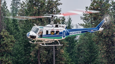 N340WN - Bell UH-1H Iroquois - United States - Washington State Department of Natural Resources