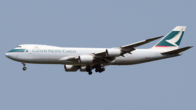B-LJM - Boeing 747-867F - Cathay Pacific Cargo