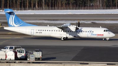OH-ATK - ATR 72-212A(500) - Finncomm Airlines