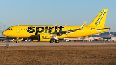 A picture of N907NK - Airbus A320271N - Spirit Airlines - © Kevin Cargo