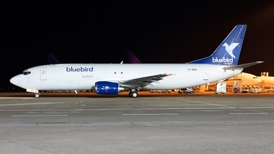 A picture of TFBBK - Boeing 7374Q8(SF) - Bluebird Nordic - © Oliver Hendrich