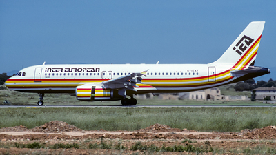 G-IEAF - Airbus A320-231 - Inter European Airways