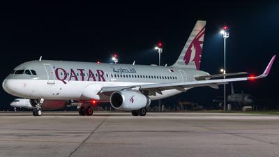 A7-AHY - Airbus A320-232 - Qatar Airways
