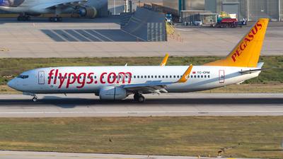 TC-CPM - Boeing 737-82R - Pegasus Airlines