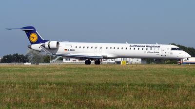 D-ACKI - Bombardier CRJ-900LR - Lufthansa Regional (CityLine)