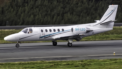 9H-LEO - Cessna 550 Citation II - Luxwing