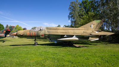 848 - Mikoyan-Gurevich MiG-21bis Fishbed L - German Democratic Republic - Air Force