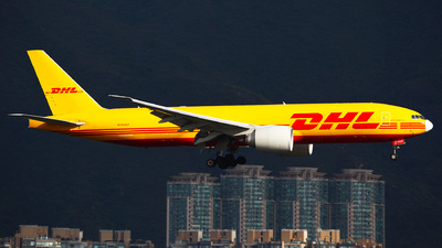 A picture of N705GT - Boeing 777F - DHL - © Ching Ho