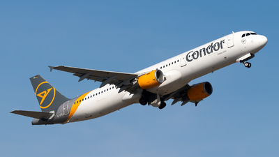 A picture of DATCA - Airbus A321211 - Condor - © Julian Azeroth