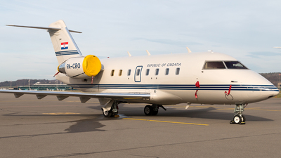 9A-CRO - Bombardier CL-600-2B16 Challenger 604 - Croatia - Air Force