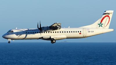 A picture of CNCOF - ATR 72600 - Royal Air Maroc - © Alejandro Hern�ndez Le�n
