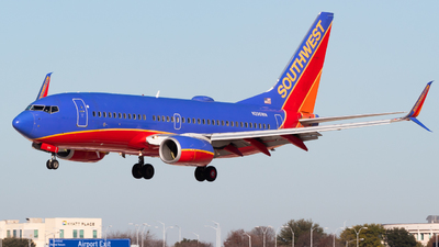 A picture of N296WN - Boeing 7377H4 - Southwest Airlines - © Saul Hannibal