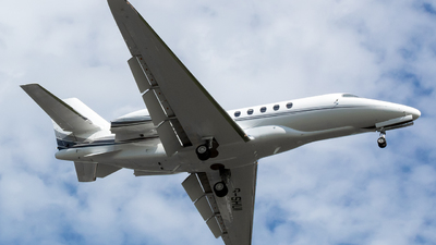 G-SHUI - Cessna Citation Latitude - Air Charter Scotland