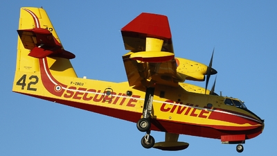 F-ZBEU - Canadair CL-415 - France - Sécurité Civile