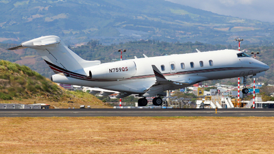 N759QS - Bombardier BD-100-1A10 Challenger 350 - NetJets Aviation