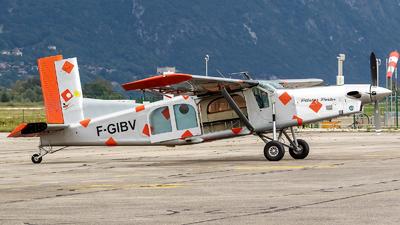 A picture of FGIBV - Pilatus PC6/B2H4 Turbo Porter - [651] - © Eric Verplanken