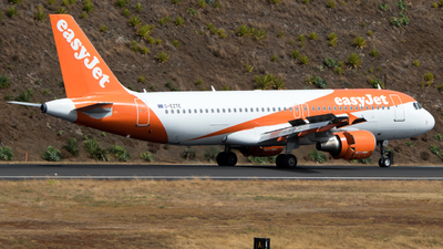 G-EZTE - Airbus A320-214 - easyJet