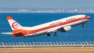 JA8999 - Boeing 737-446 - Japan TransOcean Air (JTA)