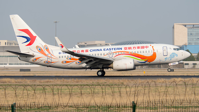 B-5807 - Boeing 737-79P - China Eastern Airlines