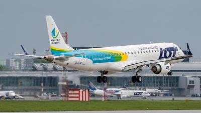 A picture of SPLNF - Embraer E195LR - LOT - © Łukasz Jagodziński