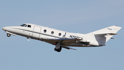 N707CX - Dassault Falcon 10 - Private