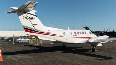 ZK-MFT - Beechcraft B200 Super King Air - Skyline Aviation