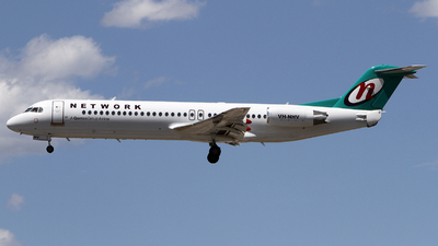 VH-NHV - Fokker 100 - Network Aviation