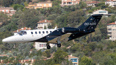 OO-KOR - Cessna 525A CitationJet 2 Plus - Abelag Aviation