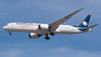 N128AM - Boeing 787-9 Dreamliner - Aeromexico