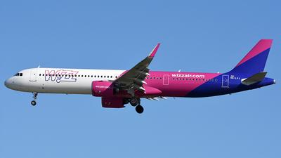 A picture of HALVJ - Airbus A321271NX - Wizz Air - © Andrea Giribuola