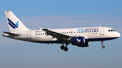 9A-BTJ - Airbus A319-112 - Mywings (Trade Air)