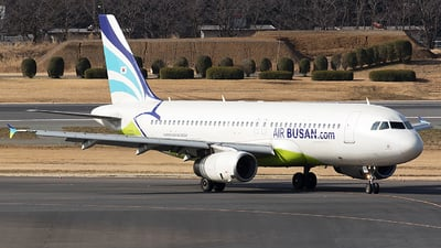 A picture of HL8066 - Airbus A320232 - Air Busan - © BennyH
