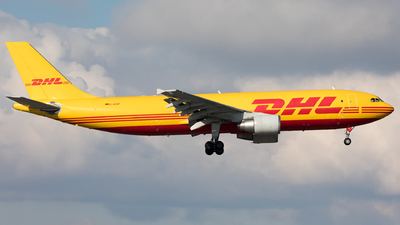 A picture of DAEAF - Airbus A300B4622R(F) - DHL - © Sierra Aviation Photography