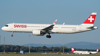 A picture of HBJPA - Airbus A321271NX - Swiss - © Michael Musil