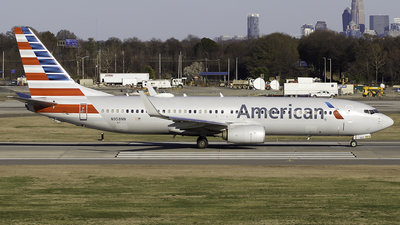 A picture of N958NN - Boeing 737823 - American Airlines - © Thomas Morrison
