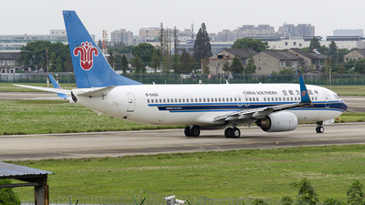 A picture of B5420 - Boeing 73781B - China Southern Airlines - © StephenLian020216
