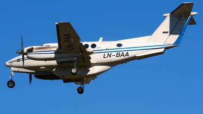 LN-BAA - Beechcraft B200 Super King Air - Bergen Air Transport