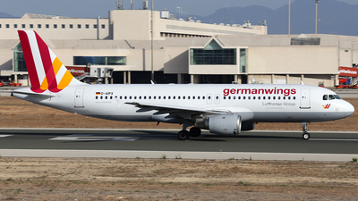 D-AIPX - Airbus A320-211 - Germanwings