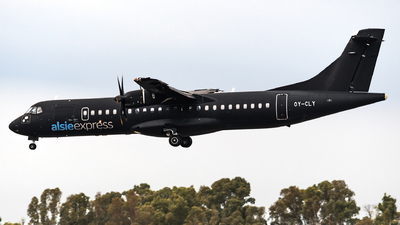 A picture of OYCLY - ATR 72500 - Air Alsie - © Matteo Buono