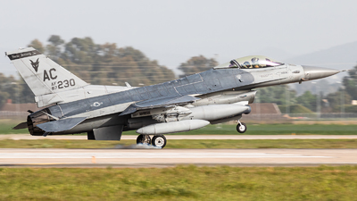 87-0230 - General Dynamics F-16C Fighting Falcon - United States - US Air Force (USAF)