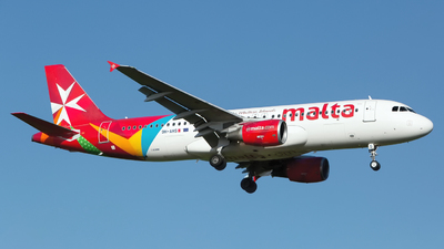 A picture of 9HAHS - Airbus A320214 - Air Malta - © Chris Pitchacaren
