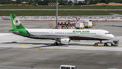 A picture of B16217 - Airbus A321211 - EVA Air - © Chao Aviation
