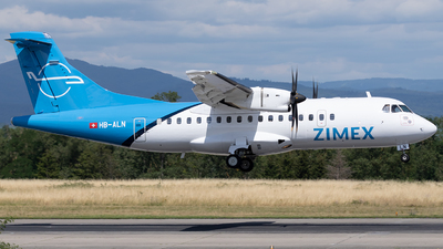A picture of HBALN - ATR 42500 - Zimex Aviation - © Joel Basler