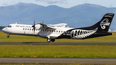ZK-MVG - ATR 72-212A(600) - Air New Zealand